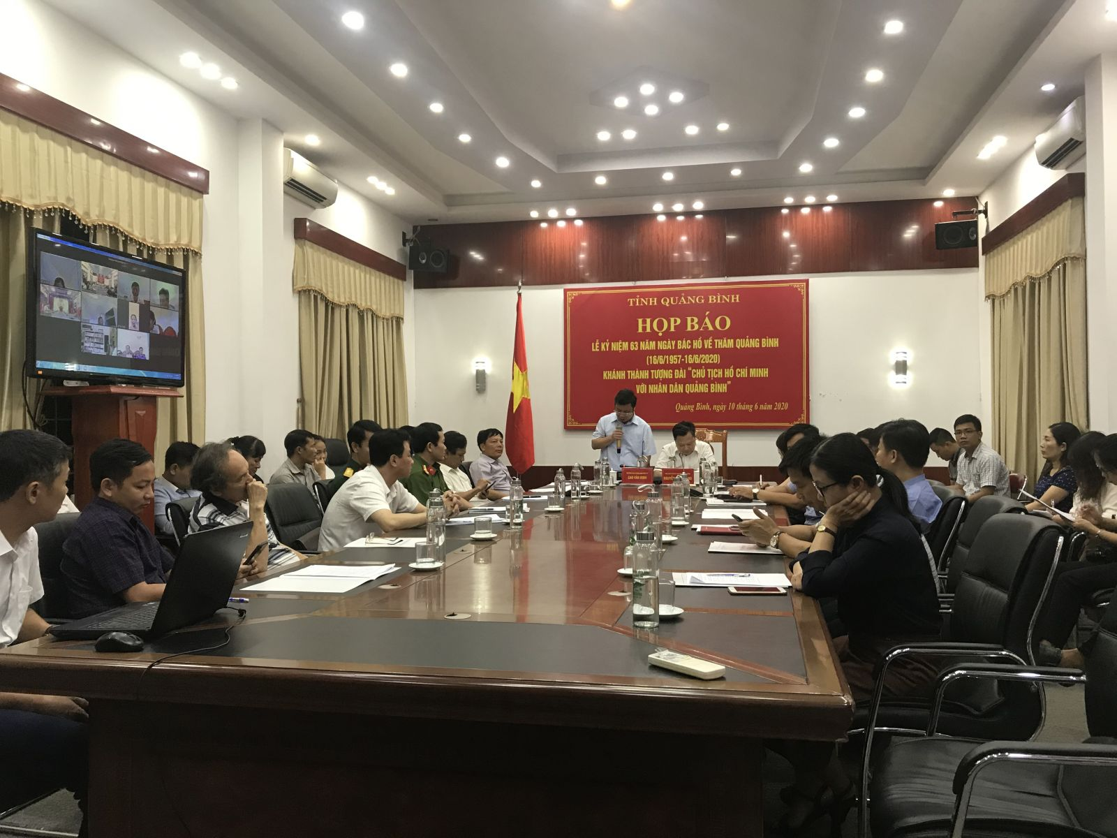 Quang Binh inaugurates Uncle Ho Statue to welcome Party Congresses