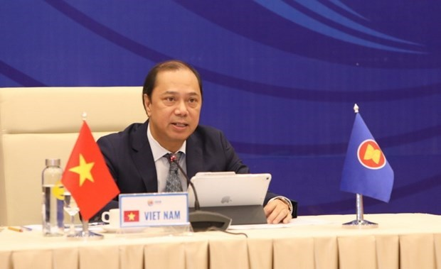 ASEAN officials discuss preparations for upcoming activities