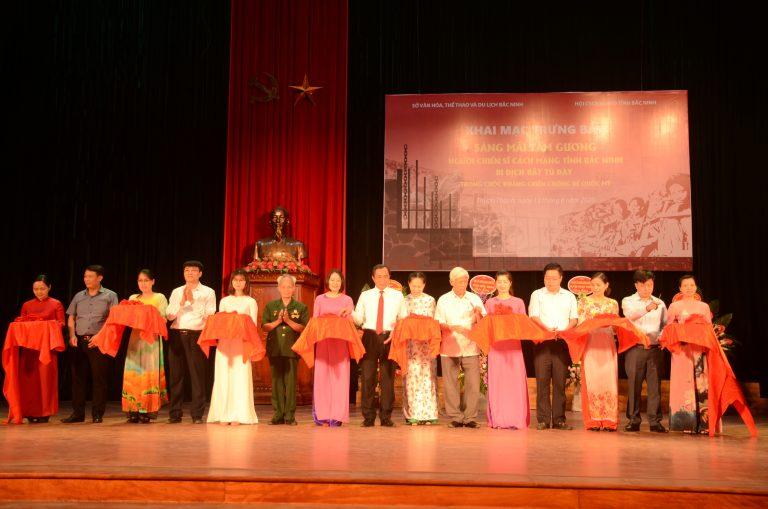 Bac Ninh revolutionary soldier display
