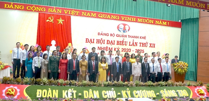 Model district-level party congress in Da Nang city