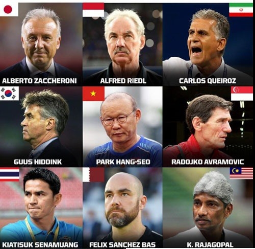 Park Hang-seo nominated as Asian best coach by Fox Sport