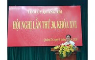 Central province of Quang Tri has new deputy secretary