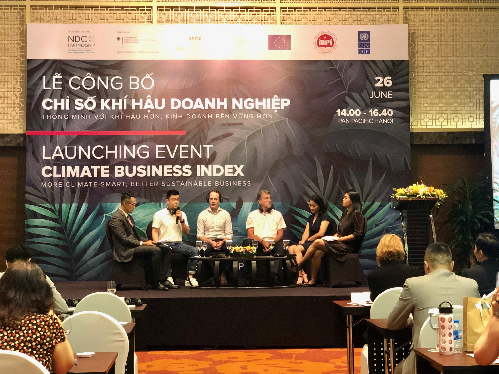 Launch of new Climate Business Index