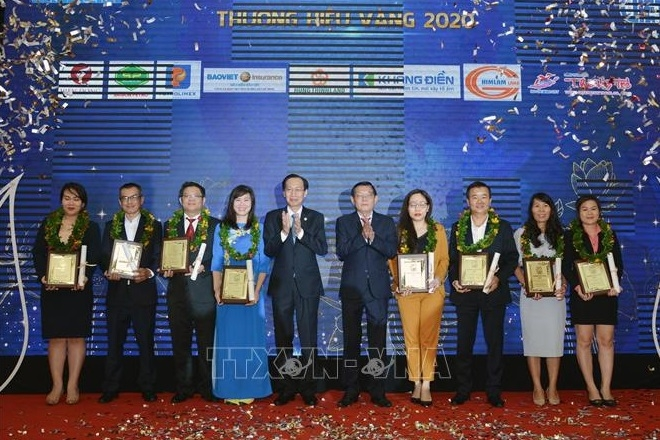 Most favoured Vietnamese brands in 2020 honoured