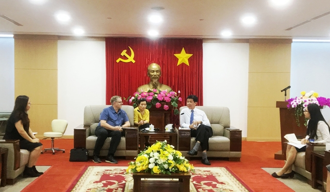 Binh Duong province increases cooperation with Denmark