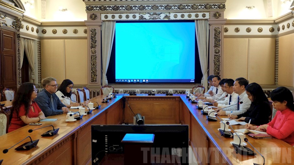 Ho Chi Minh city increases cooperation with Denmark