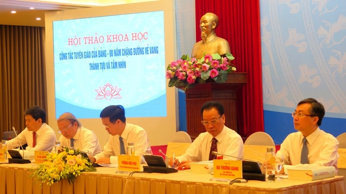 Popularization and education sector makes great contribution to revolutionary process