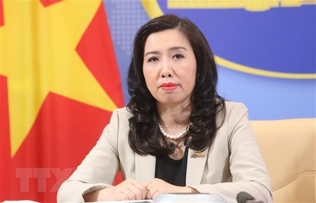 Vietnam welcomes East Sea stance in line with law: Foreign Ministry spokesperson
