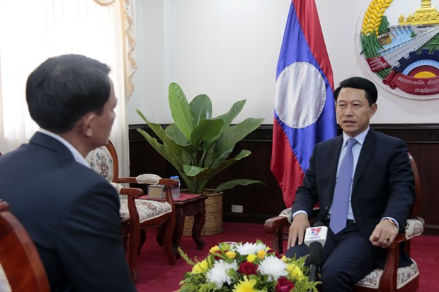 Vietnam shows outstanding role as ASEAN Chair: Lao minister