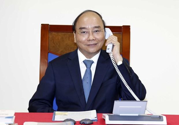 Prime Minister holds phone talks with EC President
