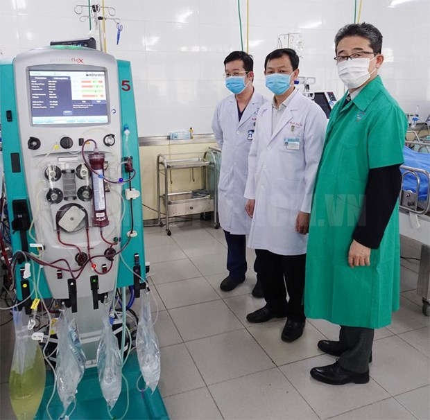 JICA provides COVID-19 treatment equipment for Cho Ray Hospital