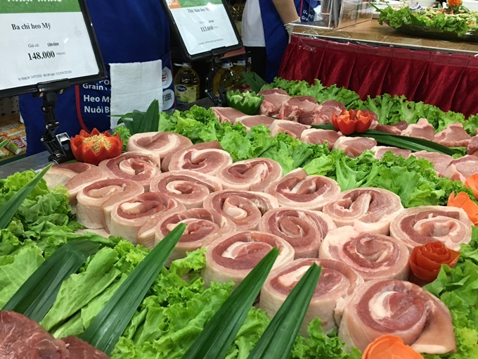 US pork introduced in Hanoi for first time