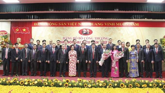 Mr. Hoang Quoc Vuong elected as Secretary of MoIT's Party Committee