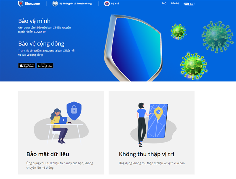 Vietnam needs 30 million people to use Bluezone application