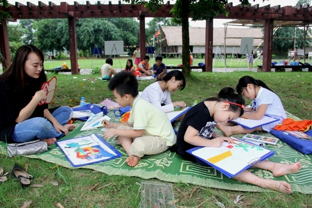 July activities at Vietnam National Village for Ethnic Culture and Tourism