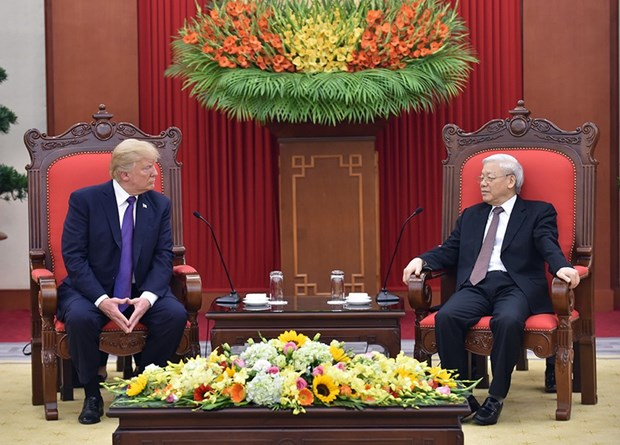 Vietnamese leaders congratulate US on Independence Day