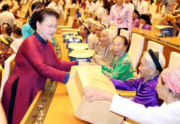 """Heroic Vietnamese Mothers are """"silent soldiers"""": NA Chairwoman"""