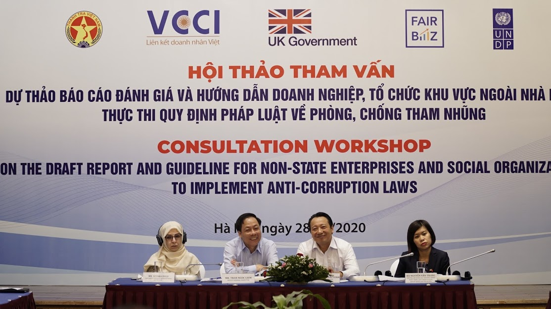 Helping non-state enterprises and social organisations implement anti-corruption laws to promote business integrity