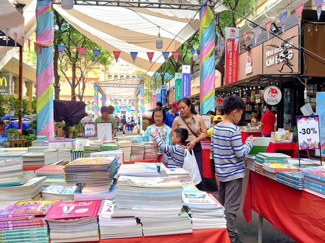 Children's Book Festival in HCMC