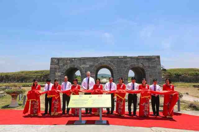 Inauguration of the Ho Dynasty Citadel conservation project