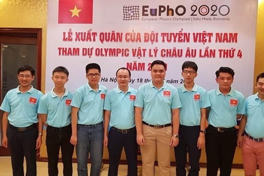 Vietnamese students claim four medals at European Physics Olympiad 2020