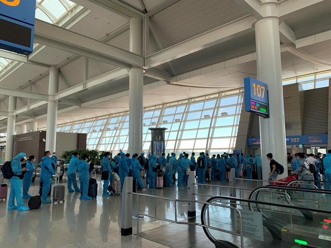 Over 310 Vietnamese citizens brought home from RoK