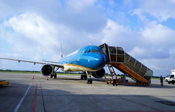 Resuming air transport between Vietnam and China