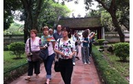 Nearly 1.2 million tourists visit Hanoi in July