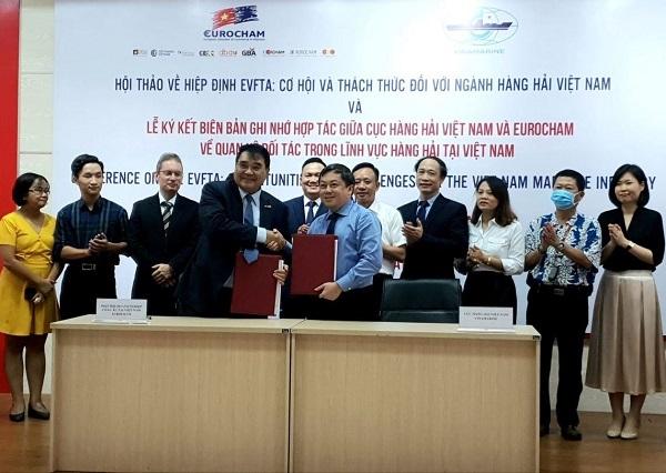Sea transportation contributes to boosting EVFTA development