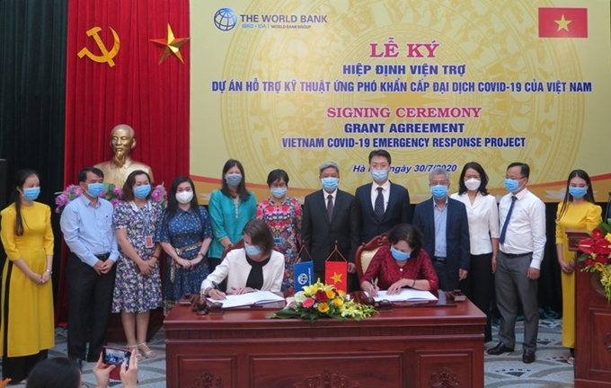 WB helps Vietnam cope with COVID-19