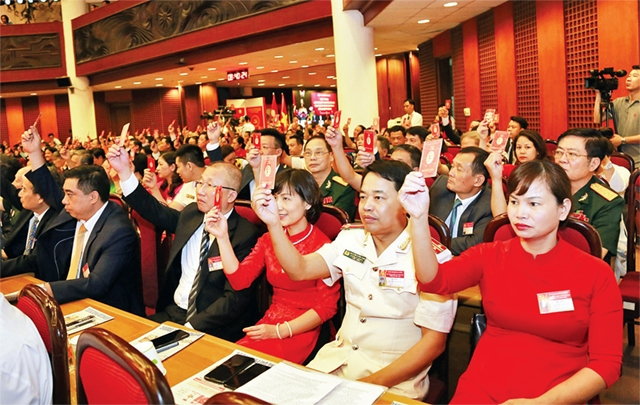 Hanoi: 66% of above grassroots level Party Congresses completed