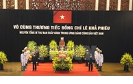 Respect-paying ceremony for former Party leader Le Kha Phieu starts