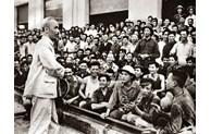President Ho Chi Minh with Hanoi