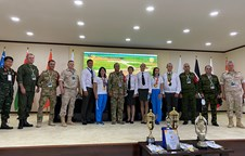 Vietnamese military doctor awarded certificate of international referee at Army Games 2020