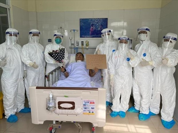 Four more COVID-19 patients discharged from hospital