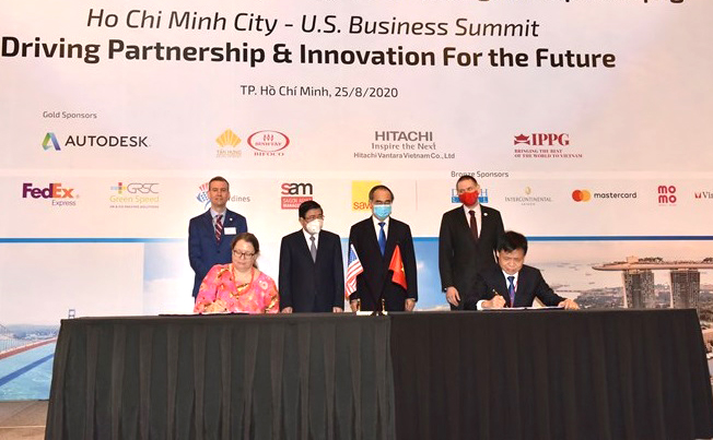 Over USD1.4 million in support of Ho Chi Minh city's Intelligent Operations Center
