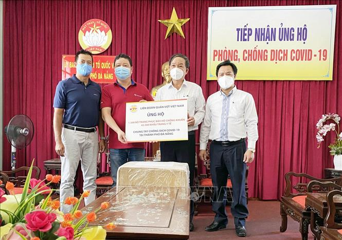 Over VND51 billion in support of Da Nang's COVID-19 fight