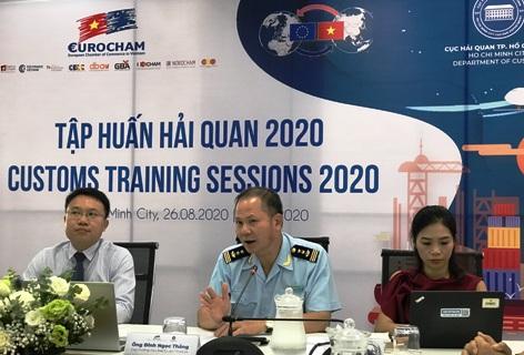 HCM city organizes customs training for European businesses