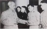 Photos about President Ho Chi Minh and People
