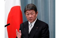 Japan calls for peaceful settlement of East Sea issue