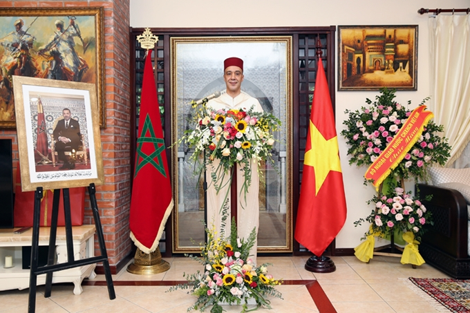 Morocco celebrates the 21th anniversary of the enthronement of His Majesty Mohammed VI