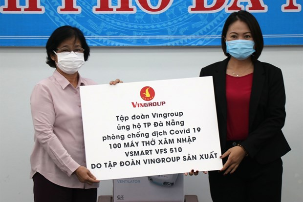 Businesses support Da Nang combat COVID-19