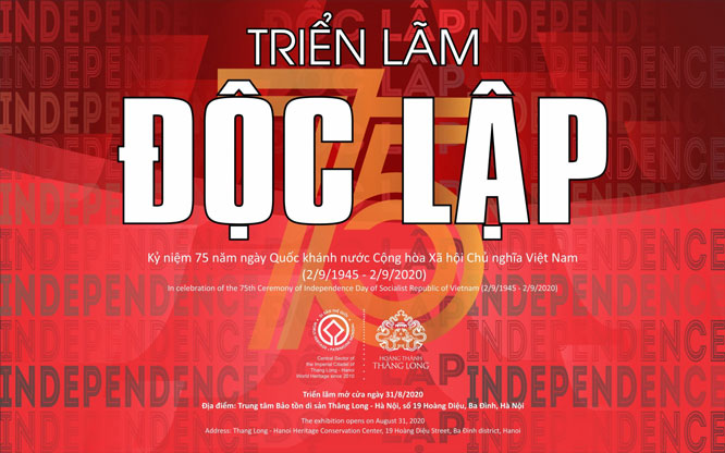 """100 documents on """"Independence"""" to be displayed at Thang Long Imperial Citadel"""
