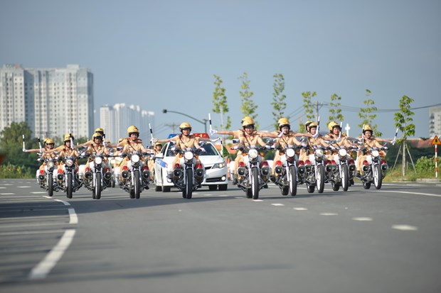Ho Chi Minh City Police launches specialized female motorcycle squad