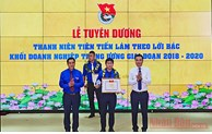 50 typical youths honored for following Uncle Ho's teachings