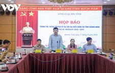 Quang Ninh provincial Party Congress to take place in 3 days