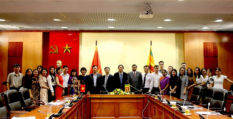 Sri Lanka and Vietnam move towards strong bilateral relationship