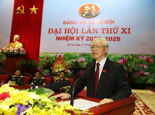11th Party Congress of Vietnam People's Army opens