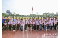 Nghe An honors 67 excellent pupils following Uncle Ho's teachings