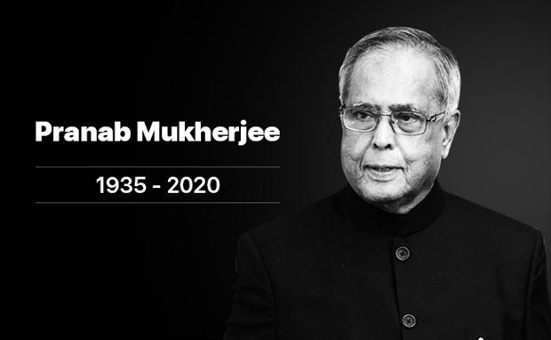 Condolences to India over death of former President Pranab Mukherjee
